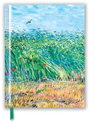Vincent van Gogh: Wheat Field with a Lark (Blank Sketch Book) de Flame Tree Studio
