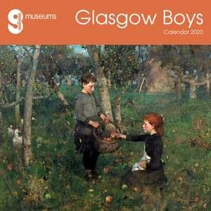 Glasgow Museums – Glasgow Boys Wall Calendar 2020 (Art Calendar) de Flame Tree Studio