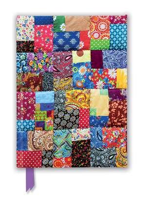 Patchwork Quilt (Foiled Journal) de Flame Tree Studio