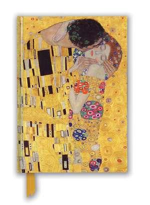 Gustav Klimt: The Kiss (Foiled Blank Journal) de Flame Tree Studio