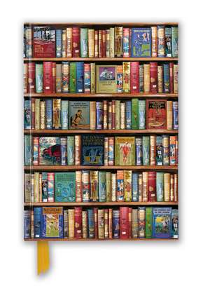 Bodleian Libraries: Hobbies & Pastimes Bookshelves (Foiled Blank Journal) de Flame Tree Studio