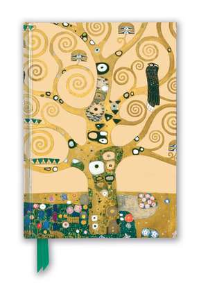 Gustav Klimt: Tree of Life (Foiled Blank Journal) de Flame Tree Studio