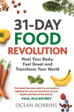 31-Day Food Revolution de Ocean Robbins