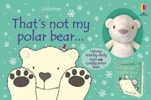 That's Not My Polar Bear...book and toy de Fiona Watt