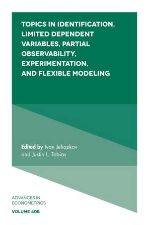 Topics in Identification, Limited Dependent Variables, Parti imagine