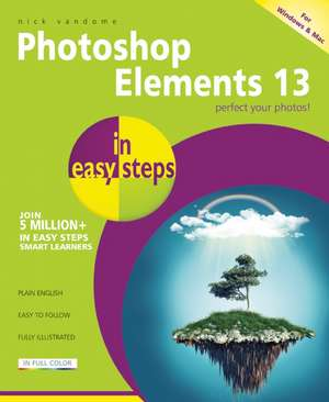 Photoshop Elements 13 in easy steps de Nick Vandome
