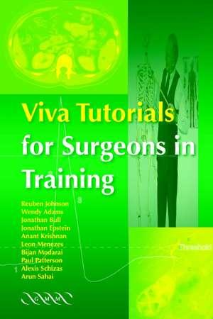 Viva Tutorials for Surgeons in Training