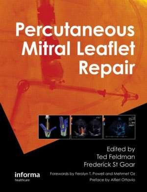 Percutaneous Mitral Leaflet Repair