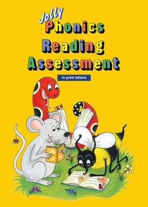 Jolly Phonics Reading Assessment in Print Letters de Sue Lloyd