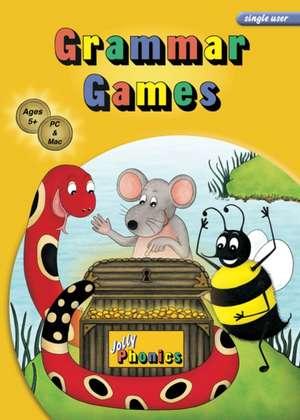 Grammar Games (Single User):  Jolly Phonics de Sara Wernham