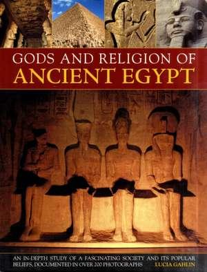 Gods and Religion of Ancient Egypt de Lucia Gahlin
