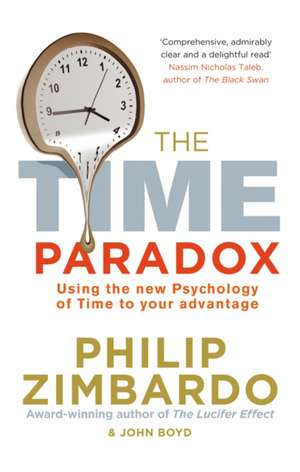 The Time Paradox de Philip Zimbardo
