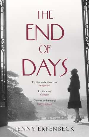 The End of Days de Jenny Erpenbeck