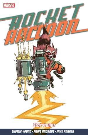 Rocket Raccoon Vol. 2: Storytailer de Skottie Young