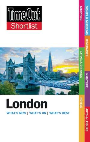 Time Out Shortlist London 2015