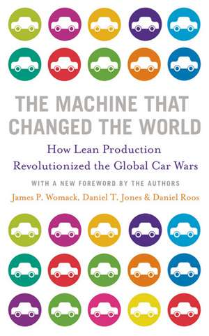 The Machine That Changed the World de James P. Womack
