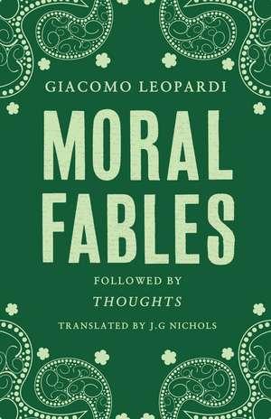 Moral Fables de Giacomo Leopardy