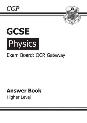 GCSE Physics OCR Gateway Answers (for Workbook)