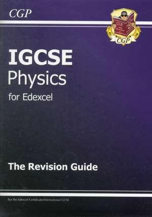 Edexcel International GCSE Physics Revision Guide with Online Edition (A*-G Course) de  CGP Books
