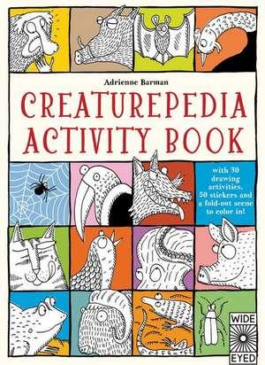 Creaturepedia Activity Book