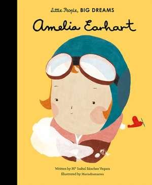 Amelia Earhart de Isabel Sánchez Vergara