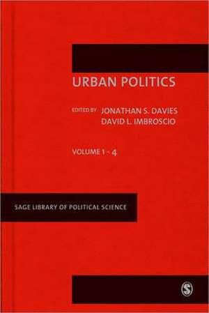 Urban Politics de Jonathan S Davies