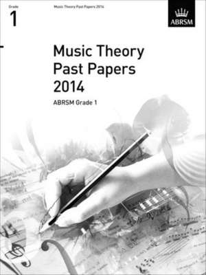 Music Theory Past Papers 2014  Abrsm Grade 1