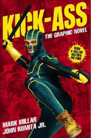 Kick-Ass - (Movie Cover) de John Romita