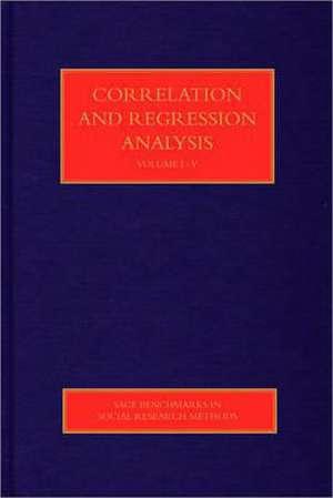 Correlation and Regression Analysis de W. (William) Paul Vogt