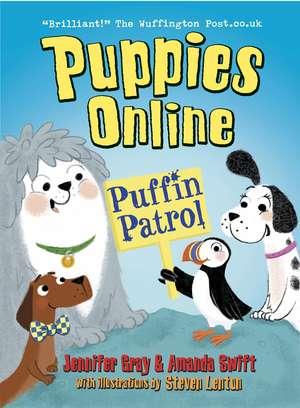 Puppies Online: Puffin Patrol de Amanda Swift