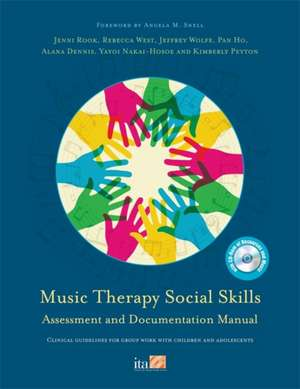 Music Therapy Social Skills Assessment and Documentation Manual (MTSSA)