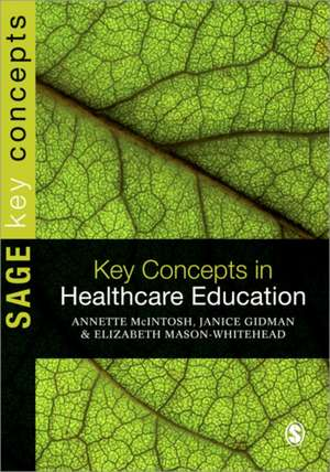Key Concepts in Healthcare Education