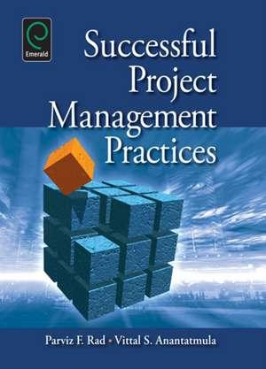 Successful Project Management Practices de Parviz F. Rad