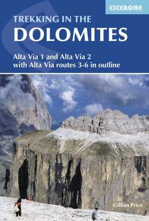 Trekking in the Dolomites de Gillian Price
