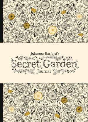 Jurnal/ Agendă Johanna Basford's Secret Garden  de Johanna Basford