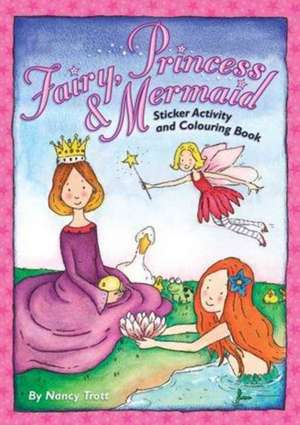 Fairy, Princess and Mermaid Activity and Sticker Book