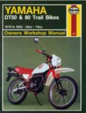 Yamaha DT50 & 80 Trail Bikes (78 - 95) de  Haynes Publishing