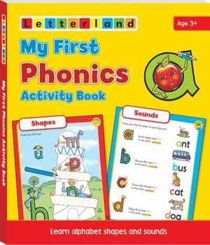 My First Phonics Activity Book imagine