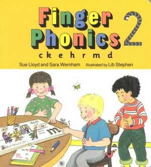 Finger Phonics 2 de Sue Lloyd