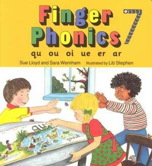 Finger Phonics 7 de Sue Lloyd