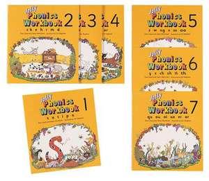 Jolly Phonics Workbooks Set