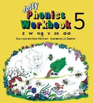 Jolly Phonics Workbook 5 imagine