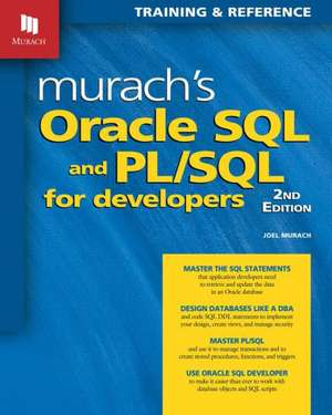 Murachs Oracle SQL & PL / SQL for Developers imagine