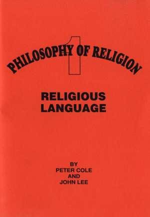 Religious Language de Peter Cole