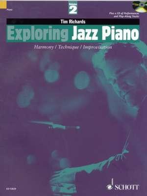 Exploring Jazz Piano de Tim Richards