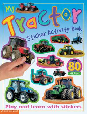 My Tractor Sticker Activity Book