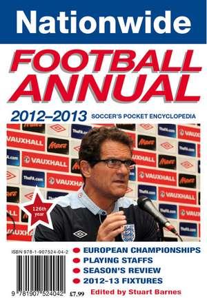 2012-2013 Nationwide Football Annual de Stuart Barnes