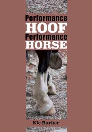 Performance Hoof, Performance Horse