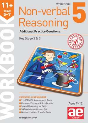 11+ Non-Verbal Reasoning Year 5-7 Workbook 5