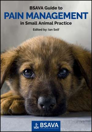 BSAVA Guide to Pain Management in Small Animal Practice de Ian Self